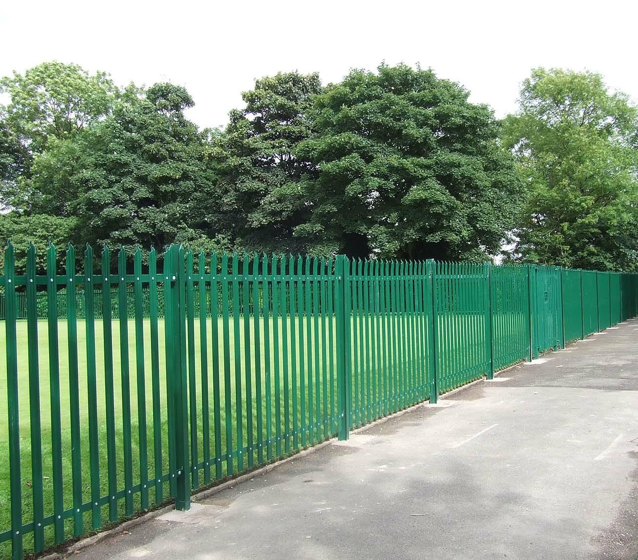 palisade high security fencing