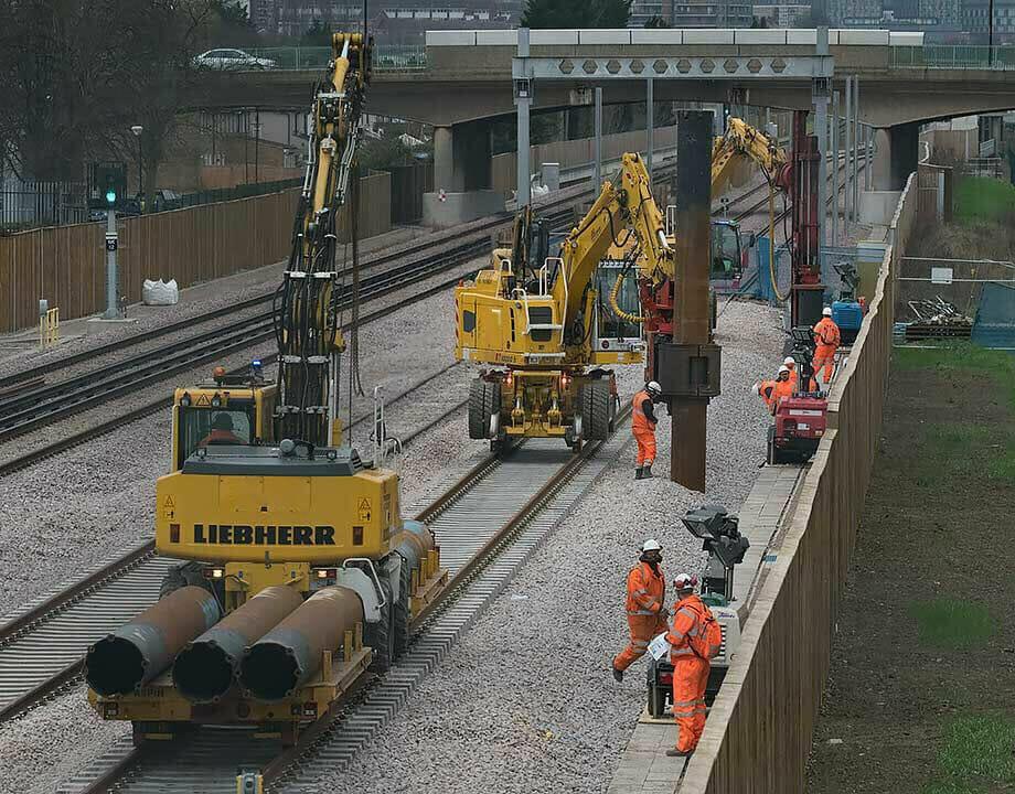 Force Rail Piling