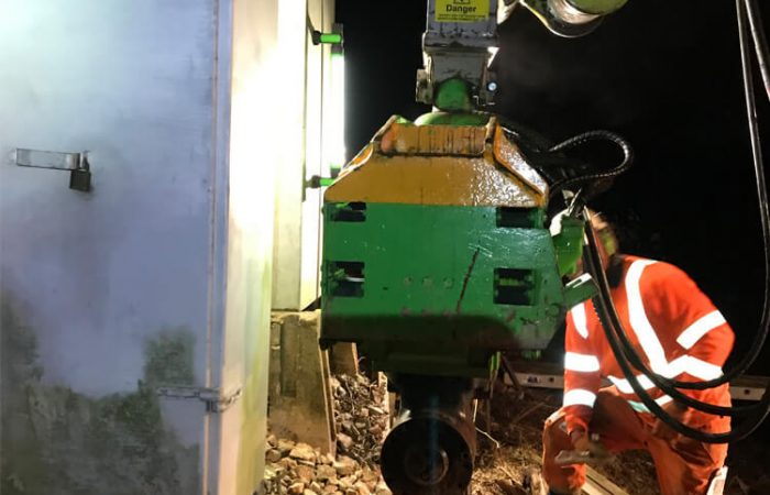 Rail Piling