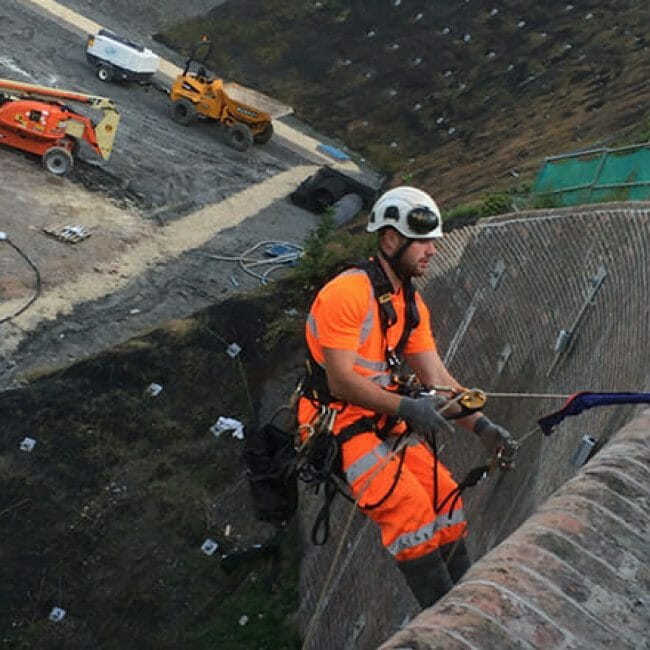 IRATA Rope Access Geo-technical and Ground Stabilisation Services